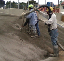 The decision was made to change North County Gunite's operation completely over to shotcrete.
